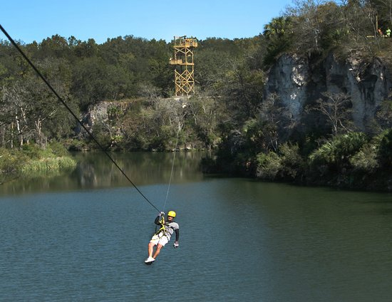 The canyons zip line and adventure park