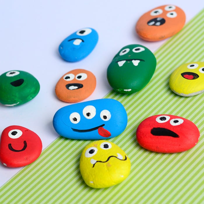 Stone Painting game for kids