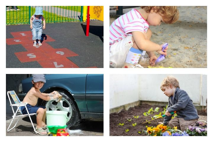 30 Fun Loving Outdoor Activities for Toddlers and Games for Kids 2020