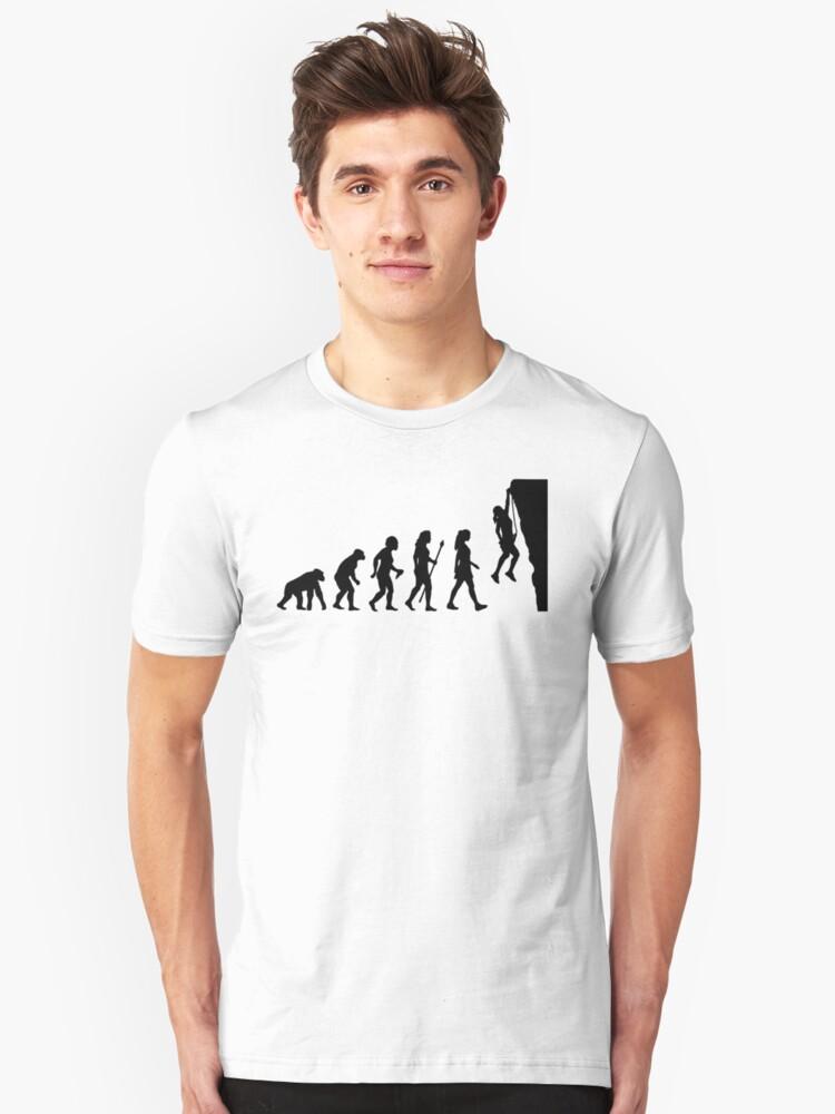 male rock climbing shirt